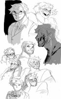 sketchdump at midnight by theoppositeofalling