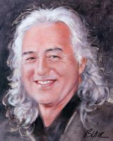 Jimmy Page, for his birthday by Cynthia-Blair