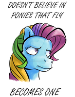 Rainbow Dash... by ColossalStinker