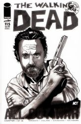 Rick Grimes Sketch Cover by nathanobrien