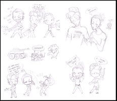 L4D2 - sketchies by woodooferret