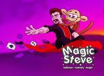Magic Steve business card #3 by wheretheresawil