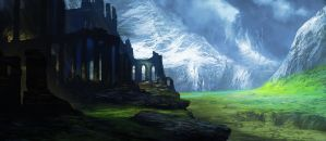 Ruins of Arcanthium by MatthewSellers