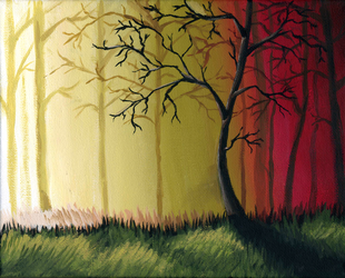 Red Forest by shmemcat