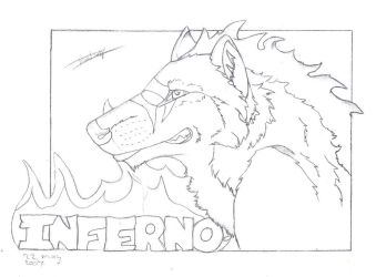 Inferno lineart- trade ruxxer by Isofur