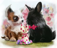 Happy Easter by Kajenna