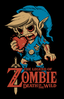 Legend of Zombie by artwork-tee