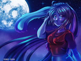 ( YCH ) Moonlight for emmaginative by Rumay-Chian