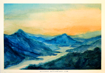 Watercolor Study I by alicexz