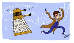 COME GET ME DALEKS by Mad-Hattie