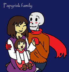 Once Upon A Handplate: happy family by MissJulyFarraday