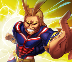 All Might by hybridmink