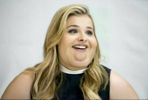 Fat Chloe Grace Mortez  by MAGICMAN22