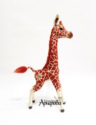Needle Felted Giraffe by FeltNari