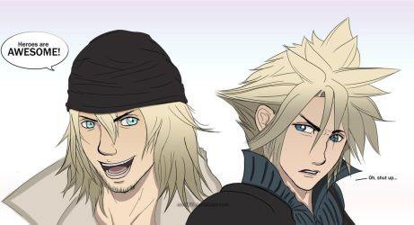 Final Fantasy: Cloud and Snow by Eric727