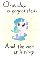a pony appeared by hip-indeed