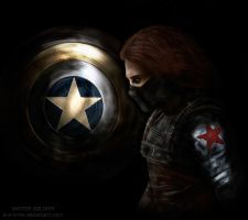 Bucky Barnes / Winter Soldier by ava-crow