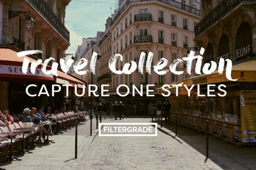 Travel Collection Capture One Styles by filtergrade