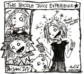 The Noodle Juice Experience by xPoisonIvyx