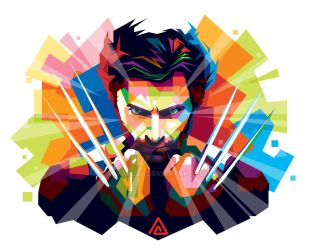 Wolverine in WPAP (2) by aryakuza