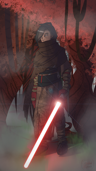 Kalen [Sith Wanderer Outfit] by Chilled-Space