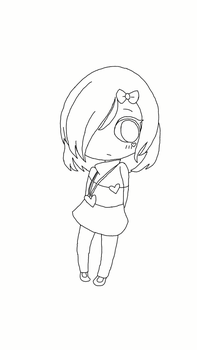 Luly Lineart / No colors by WeverthonGTABR