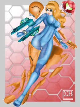 Nintendo Samus Aran fan art 1