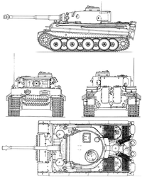 Sd.Kfz. 181 Pz.Kpfw. VI Ausf. E Tiger 1943 by withinamnesia