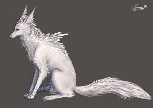Nixen concept sketch by CharmaineCheese