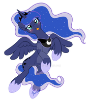 Silly Luna by Furreon