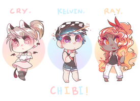 Chibi charms  by crydiaa