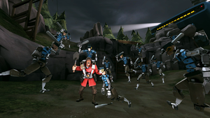 Soldier - Swarm of Scouts in Mvm by PrincessBloodyMary