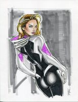SpiderGwen by Artfulcurves