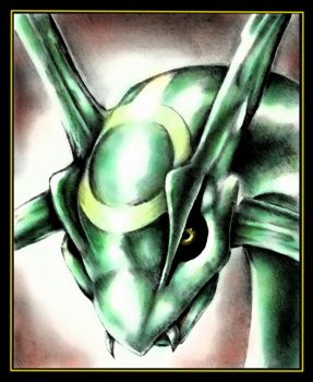 Rayquaza by Sastrei