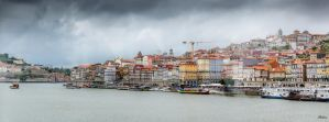 sweet Portugal - view from the bridge by Rikitza