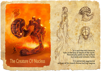 The Creature Of Nucleus by vassink