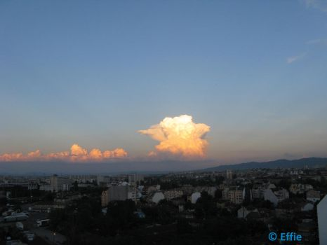 Clouds on sunset by mozilla-fan