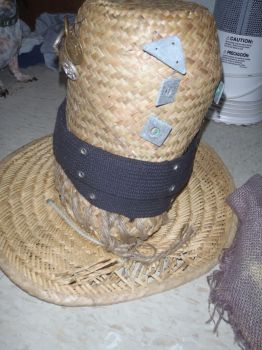 Scarecrow Halloween Hat by thesmiley6679