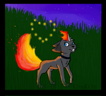 Befriending the Fire Flies (Contest Entry) by KingKinu