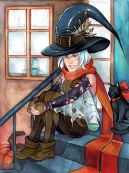 Witch by ElfenCeres