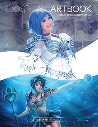 Cosplay Artbook Cover by keikei11