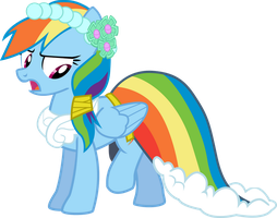 Rainbow Dash - Get this thing off Me! by Firestorm-CAN