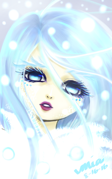 In my Element: Snow by I-am-M-i-A