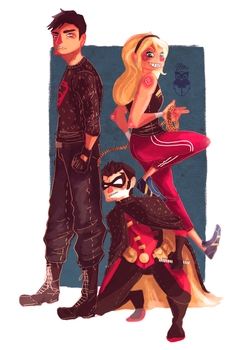 Young Justice by Jimmy-ilustra