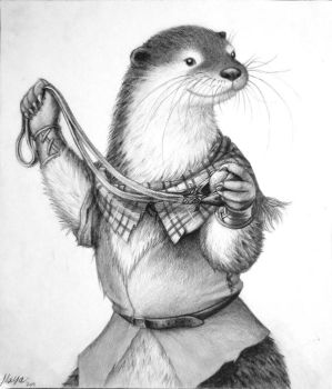 Keyla the Otter by munchengirl