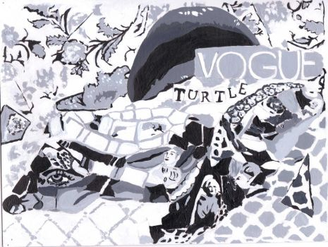 Vogue Turtle by padfootlestrange