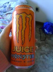 My First Monster Energy Drink by SkyloxAndMinecraft