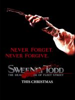 Sweeney Todd Poster contest by Garagos