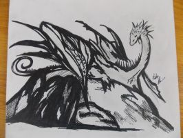 Dragon Ink 2 by TheNerdEmpress