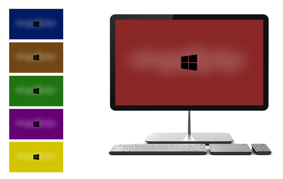 Windows 8 Wallpaper Bright Colors by Fuller1754